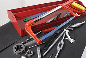CUTTING, DRILLING, TAPPING & RETHREADING TOOLS